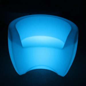 LED Outdoor Club Chair