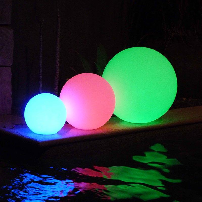 Charming Outdoor Ball Lights Part - 5: LED-90109-ball-light