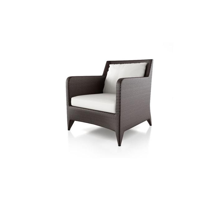 Sofa-10072-Serena-Armchair-sofa-brown-weave-white-cushion