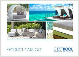 C'ESTKOOL outdoor furniture product catalog 2017