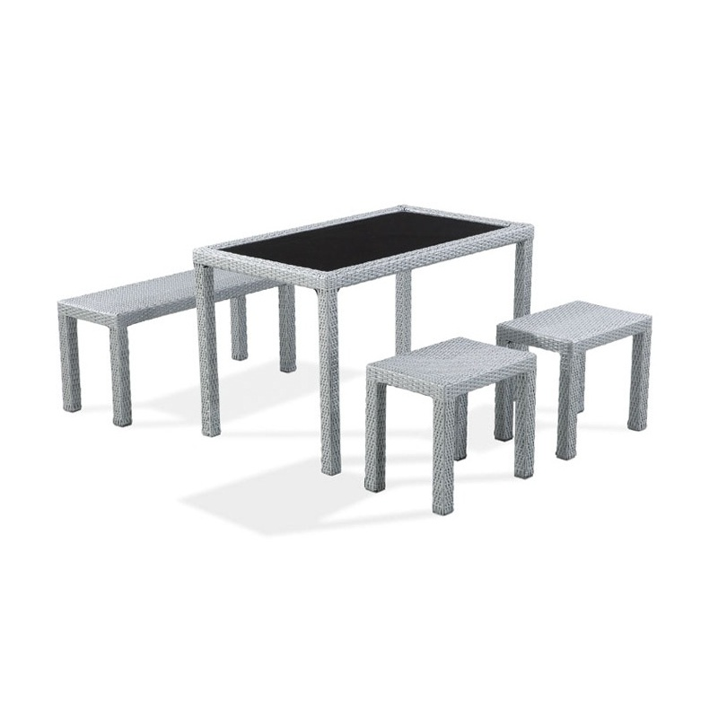 Dining Table with Bench or Stool Chairs – C\'ESTKOOL
